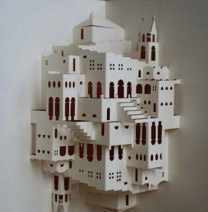 Kirigami Simple Escher Staircase                              …                                                                                                                                                     More