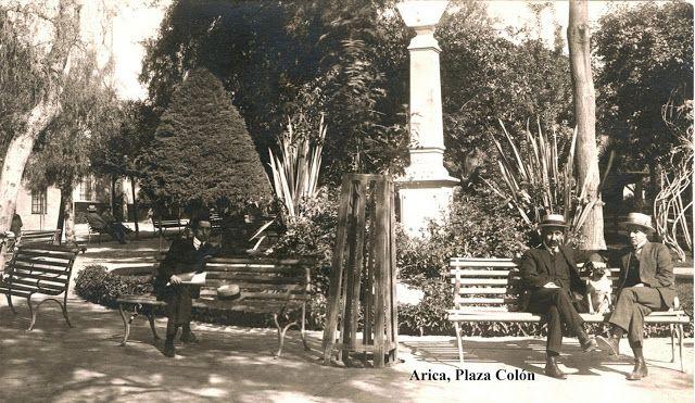 Imágenes de Chile del 1900: Arica en el 1900
