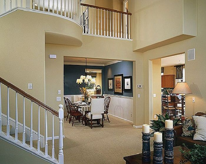 Luxury Beige Interior Design Paint Ideas