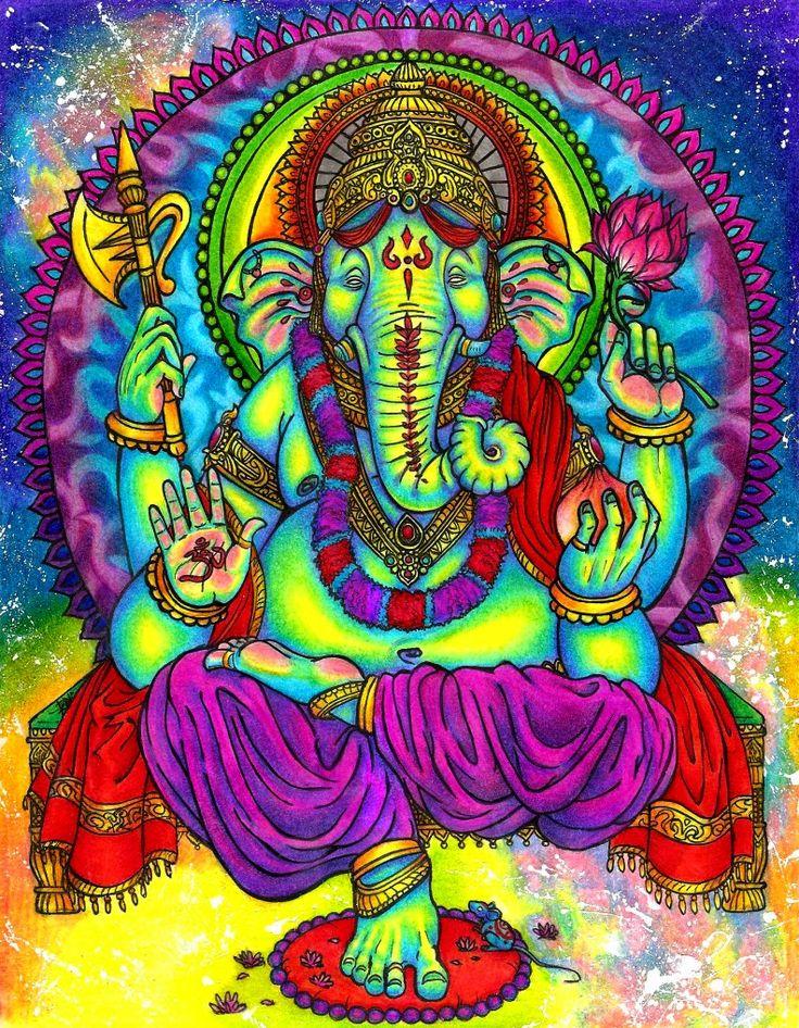 Secret Symbolism of Ganesha in Hinduism | Psychedelic Adventure