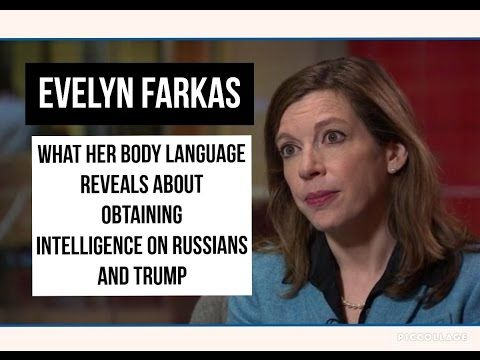 Evelyn Farkus Confusing Double Talk on Russia and Wiretapping Body Language