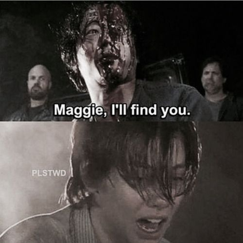 TWD S7 E1, 'THE DAY WILL COME WHEN YOU WON'T BE'