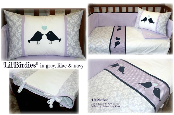 """Lil'Birdies"" Cot 