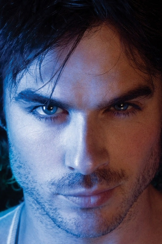 the perfected smirk...Ian Somerhalder
