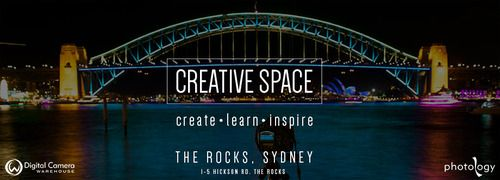 #WhatsOn For all you photography lovers out there check out these Digital Camera Warehouse workshops & talks at their Creative space! http://www.digitalcamerawarehouse.com.au/prod11014.htm