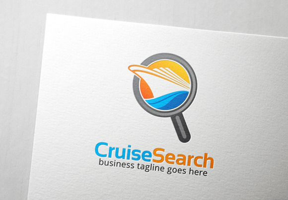 Cruise Search Logo by @Graphicsauthor