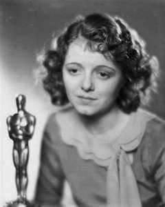 """Janet Gaynor - 1906-1984  (1927/28 -Won the academy awards for the movies,)   """" 7th heaven"""", """"Street Angel"""" and """" Sunrise"""" She was the first actress to win best actress oscar at the very first academy awards ceremonies, It was also the first only  time an actress won the oscars for multiple rolls in one year, Janet Gaynor remained one of Hollywood's biggest stars of the early depression years."""