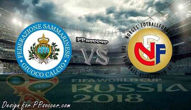San Marino vs Norway Predictions 5.10.2017 - soccer predictions, preview, H2H, ODDS, predictions correct score of World Cup Qualification Group C