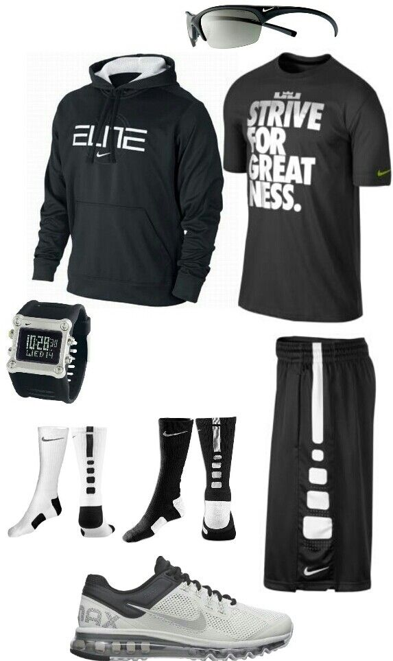 Black and white nike outfit entrenar con estilo (y)....para entrenar con estilo y cool