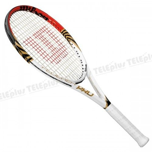 Wilson Federer Pro Tenis Raketi - KORDAJLI AĞIRLIK : 274 gr  UZUNLUK : 27.25 in  KAFA ÖLÇÜSÜ : 105 in2 - Price : TL333.00. Buy now at http://www.teleplus.com.tr/index.php/wilson-federer-pro-tenis-raketi.html