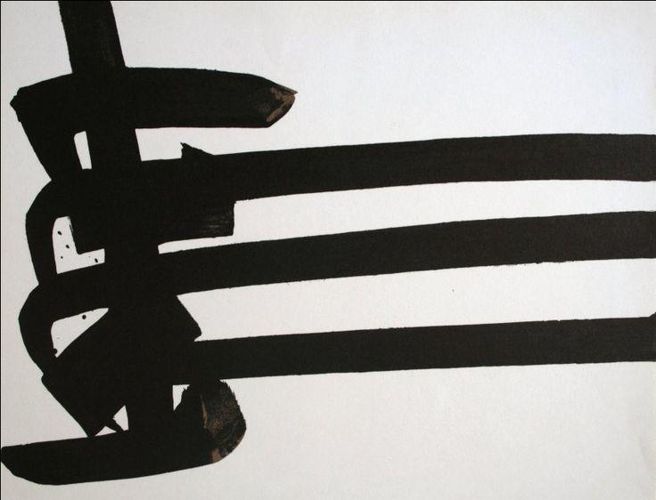Pierre SOULAGES : Lithographie originale : Lithographie 29, 1970
