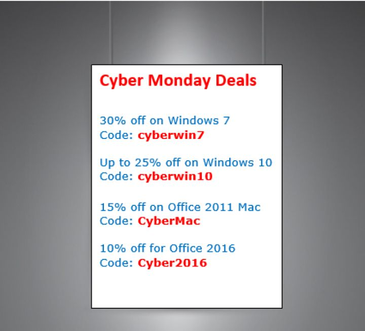 Another call for Cyber Monday!  See > http://ow.ly/VeXnV  #cybermonday