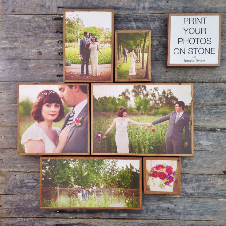 Home inspiration. Print your wedding photos on stone. Beautiful way to decorate your home.  Visit: www.imogenstone.com.au