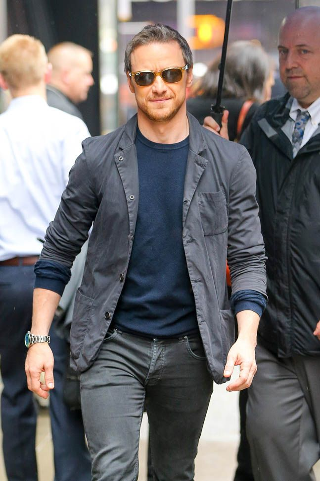 James McAvoy promotes X-Men: Apocalypse on Good Morning America and curious timing of divorce announcement from Anne-Marie Duff|Lainey Gossip Entertainment Update