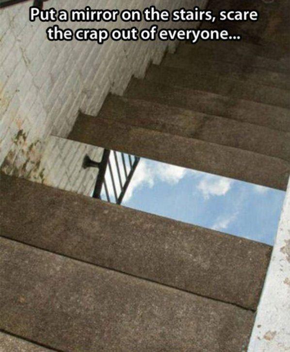 Mirror Prank funny picture