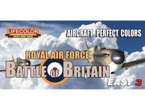 Set colores camuflaje LifeColor MS06 BATTLE OF BRITAIN