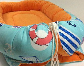 Items similar to Tilda Jane babynest / baby nest Lace& satin ribbon on Etsy