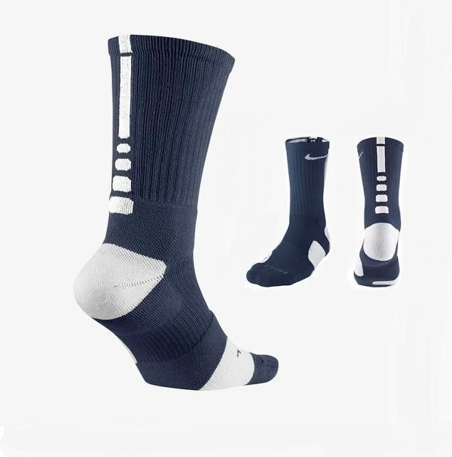 Aleta comunidad cadena  Nike Mens Elite Crew Navy Blue White Basketball Socks XL 12-15 SX3629-401 # Nike | Nike basketball socks, Navy socks, Nike elite socks