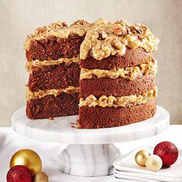 Gâteau au chocolat allemand