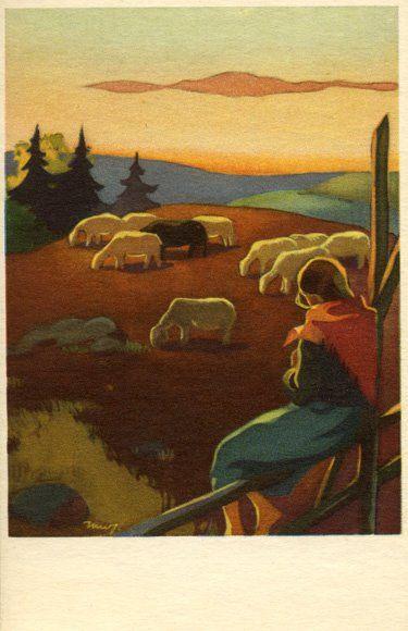 Martta Wendelin - Lammaspaimen