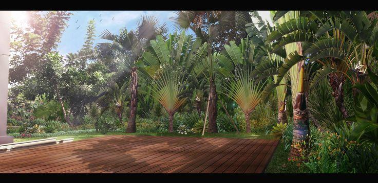 Landscape Illustration | Jakarta - Indonesia | 2013 | Design by Kubudaun