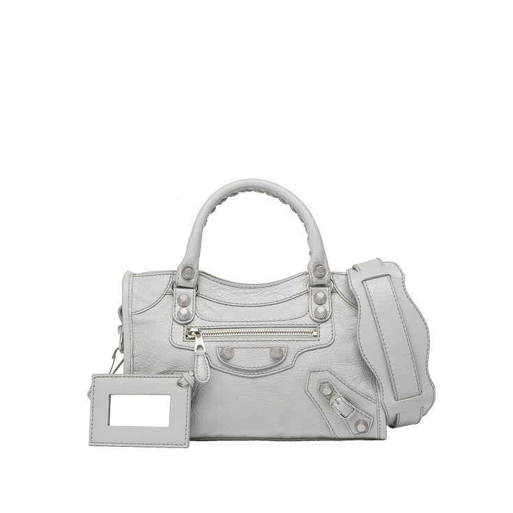 Balenciaga Giant City Bag Silver