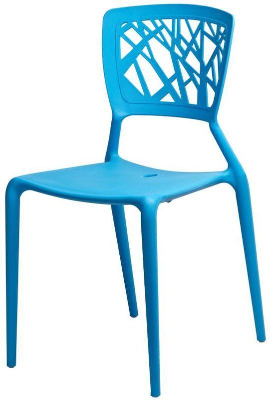 Стул Спайдер синий стулья и кресла из пластика пластиковые стулья 4ugla.com.ua