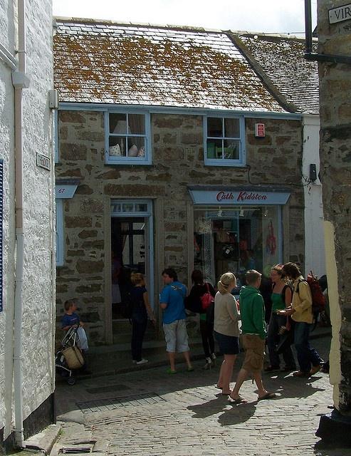 Blue windows, LOVE! Cath Kidston at St.Ives!