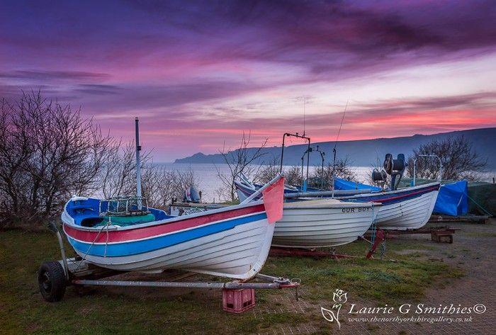 Runswick Bay Boats