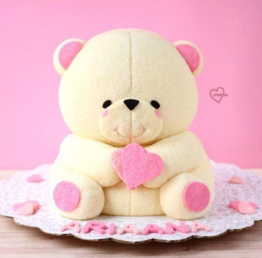 #cake #sweets #bear #animals #art #creative