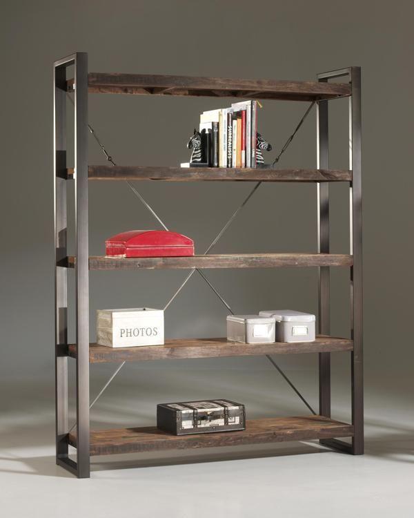 Meer dan 1000 ideeu00ebn over Metalen Boekenkast op Pinterest ...