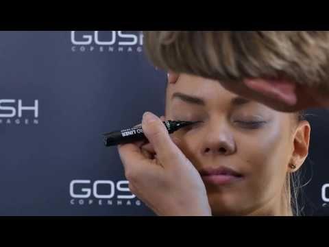 GOSH COPENHAGEN - GIANT PRO LINER + KOHL/EYE LINER 005 NUDE - YouTube