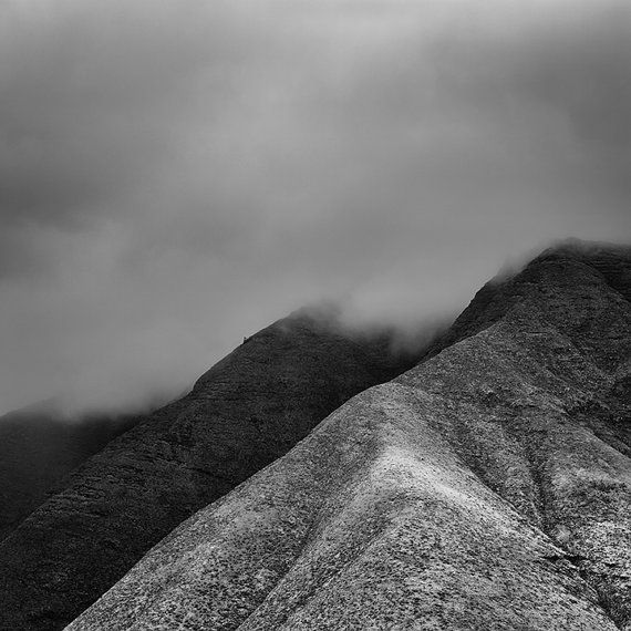 This image was made in March, 2014 while on vacation in Hawaii. A photo of the eastern view of this mountain is also on my site.