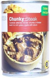 Marks and Spencer Chunky Steak - Syn Free