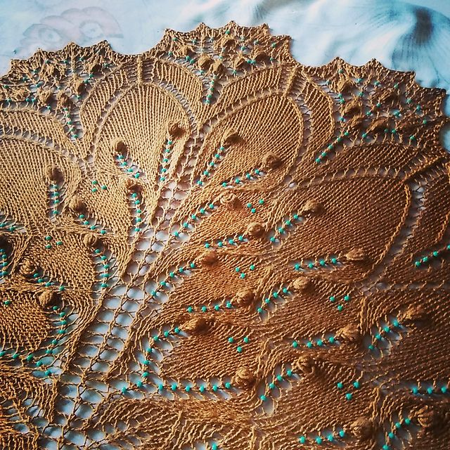 Ravelry: opipipio's •Turquoise Path• free knitting pattern