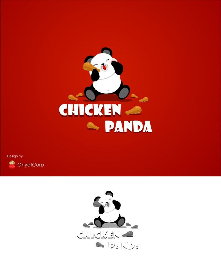 "Sribu.com ""Chicken Panda""  Failed Design :'v"