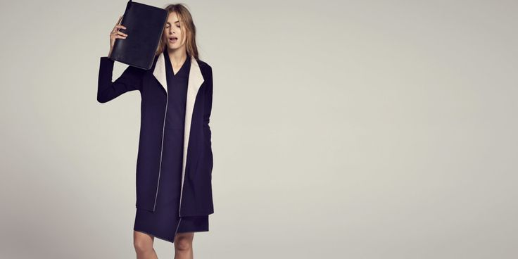 This duster is the perfect inspiration for a duster that fits.  It would really do what I want a long line jacket to do.  Cashmere would be sumptuous, but I'd settle for cotton or wool.