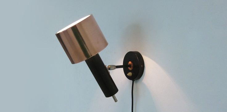 Modern design copper wall lamp i l l u m i n a z i o n e Pinterest Modern, Copper and Design