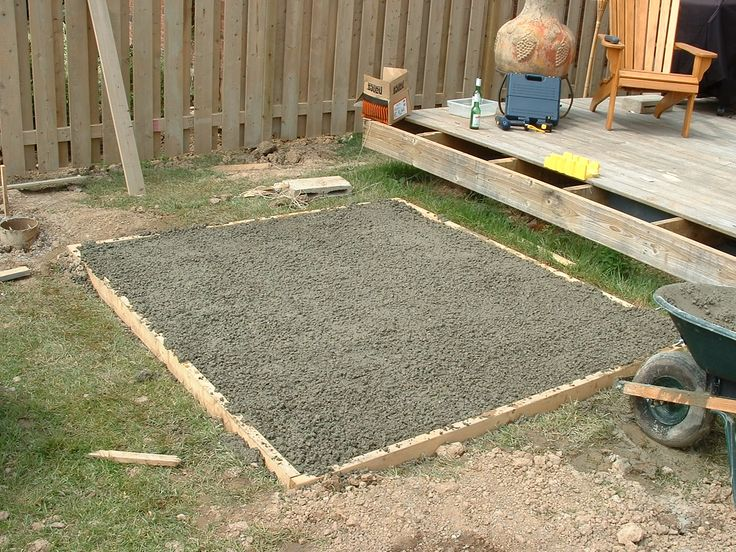 Creating a hot tub pad is always a good idea, as it will prevent uneven sinkage and damage to the bottom of the spa and ensure long life to your tub.