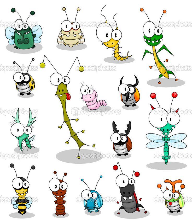 насекомые карикатура: 20 тыс изображений найдено в Яндекс.Картинках
