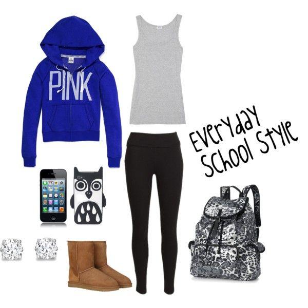 Everyday School Style - Polyvore | My Style! | Pinterest ...