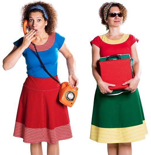 Pop Rok kleurrijke rokjes