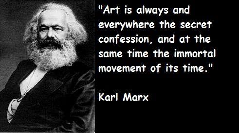 Karl Marx. @Allison Rice Steele you inspired me...:)