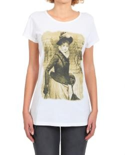T-SHIRT IN COTONE STAMPA VINTAGE | Mason's