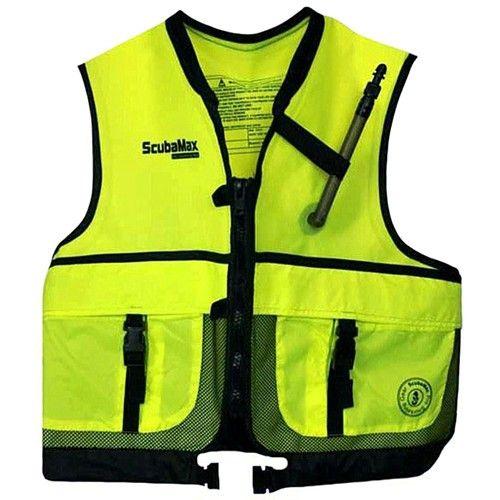 ScubaMax Snorkel Vest Zippered Jacket