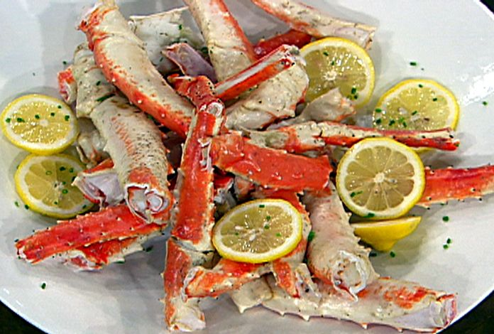 Food Network Baked Crab Legs