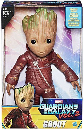Guardians of the Galaxy Vol.2 Baby Groot 10 Figure Ravager Outfit Exclusive - When Groot is captured by a Ravager fraction and unwillingly suited up as their mascot, he sets out to take revenge that's well worth rooting for. Guardians of the Galaxy Groot 10'' figure with ravager outfit