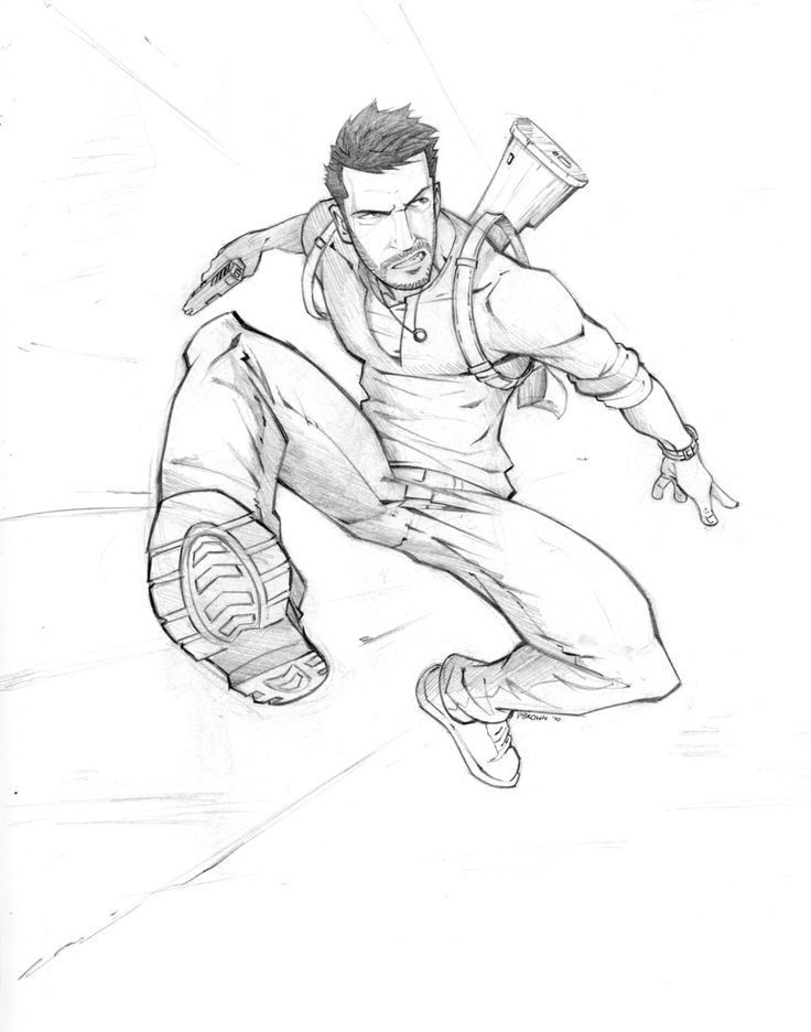 Nathan Drake by PatrickBrown ★ Find more at http://www.pinterest.com/competing/
