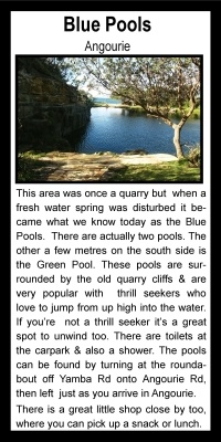 Blue Pools Angourie