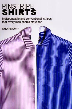 Super Saver: Pinstrip Shirts